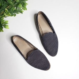 FRANCO SARTO Frontier Perforated Leather Loafer